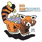 Red Pankylosaurus by Dinomals