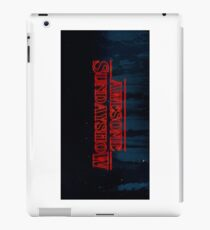 Our Logo Stranger Things Style iPad Case/Skin