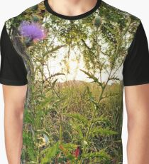 Thistle Blooms 2 Graphic T-Shirt