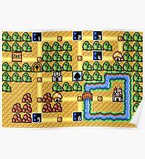 Super Mario Bros. 3 - World 1 Poster