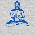 Buddha (Blue Print) by rudeboyskunk