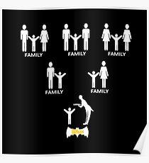 Family Batman Poster