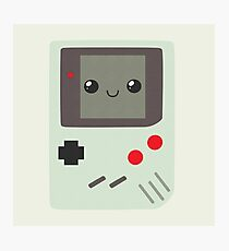 Game Boy Photographic Print