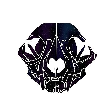 Galaxy Cat Skull by MunRitter