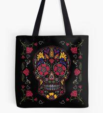 Tag der Toten Sugar Skull Dark Tasche
