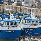 Twin Fishing Boats - David & Nathalie - La Turballe, Loire Atlantique, France by Buckwhite