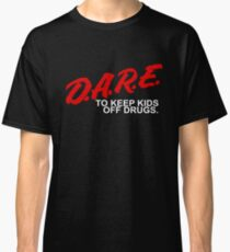 D.A.R.E - To Keep Kids Off Drugs - 1980's Classic T-Shirt