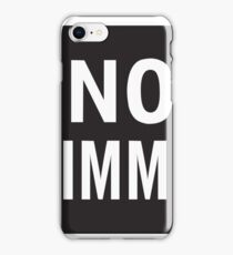 No Swimming Sign iPhone Case/Skin