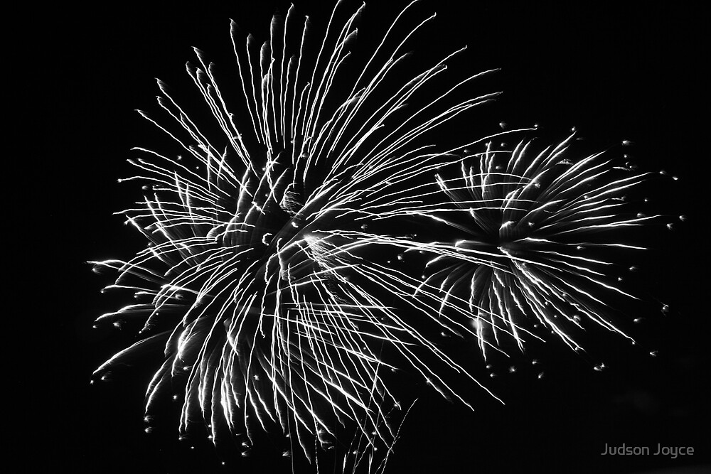 Colorless Fireworks by Judson Joyce