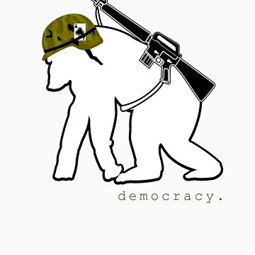 gorilla soldier by democracy