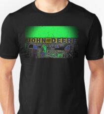 Green John Deere Tractor Engine Farm Photograph Unisex T-Shirt