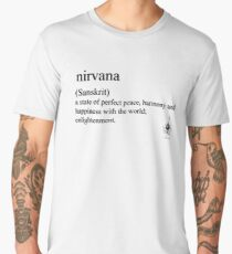 nirvana (Sanskrit) statement tees & accessories Men's Premium T-Shirt