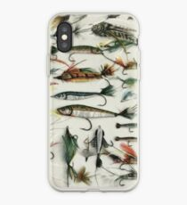 1920's Fishing Flies iPhone Case