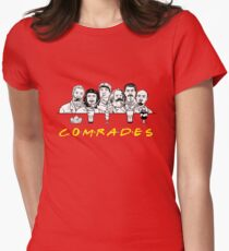 Communist Friends Comrades Women's Fitted T-Shirt