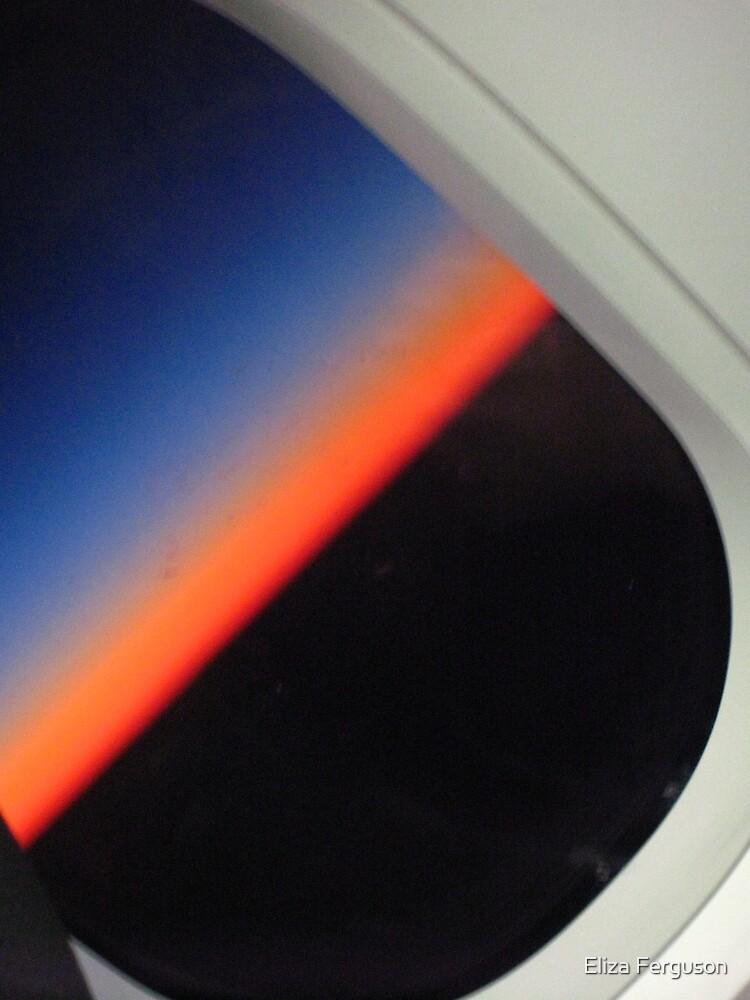 On a jet plane - 2 by Eliza Ferguson