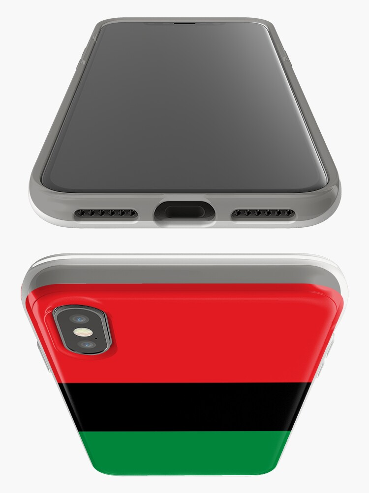 Alternate view of Pan African Flag T-Shirt - UNIA Flag Sticker - Afro American Flag iPhone Case & Cover