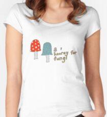 Fungi fun Women's Fitted Scoop T-Shirt