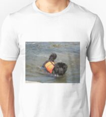 newfoundland in water T-Shirt