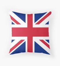 Union Jack 1960s Mini Skirt - Best of British Flag Throw Pillow
