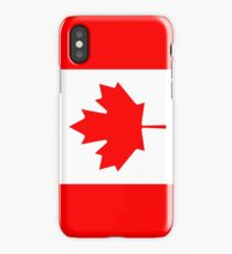 Canadian Flag - National Flag of Canada - Maple Leaf T-Shirt Sticker iPhone Case/Skin