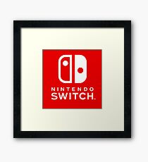 Nintendo Switch Framed Print