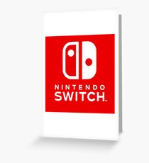 Nintendo Switch Greeting Card