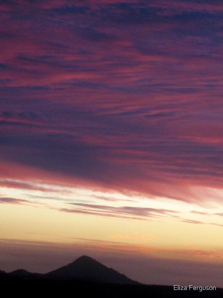 Sun setting on Noosa by Eliza Ferguson