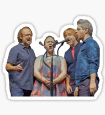 Phish Acapella (Brushstroke Edition) Sticker