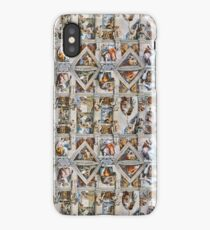 Michaelangelo - Sistine Chapel Ceiling iPhone Case