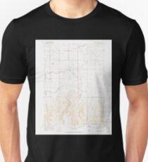 USGS TOPO Map Idaho ID Stricker Butte 238342 1965 24000 Unisex T-Shirt