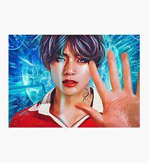 BTS/DNA Kim Taehyung Photographic Print