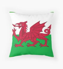 Wales National Flag - Welsh Fan Sticker T-Shirt Bedspread Throw Pillow