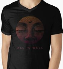 All Is Well - Trippy Inspirational Open Third Eye Art T-Shirt