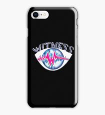KP UNIQUE EYE WITNESS iPhone Case/Skin