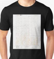 USGS TOPO Map Idaho ID Stricker Butte 238343 1979 24000 Unisex T-Shirt