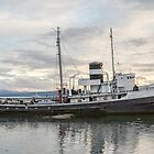 'Saint Christopher' Grounded at Ushuaia, Argentina by Holger Mader