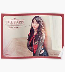 TWICE (트와이스) Once Begins - Jihyo (지효) Poster