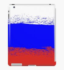 Flag of Russia. Grunge Russian Background. National Russian Flag iPad Case/Skin