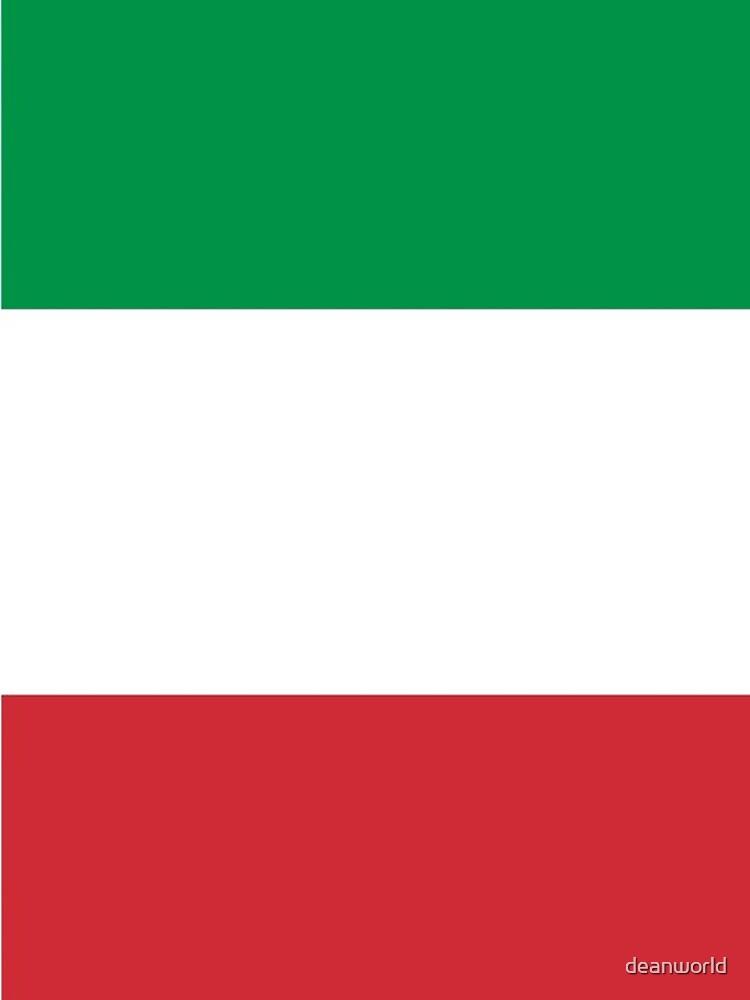 Bandera de Italia - Camiseta italiana de deanworld