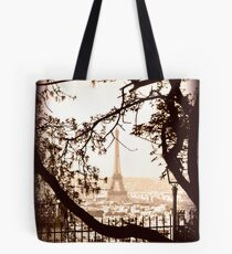 Paris Skyline from Sacre Coeur Tote Bag