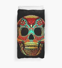 Grunge Skull No.2 Duvet Cover