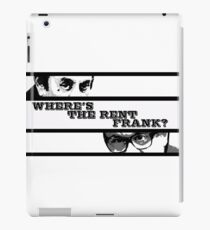Where's the rent Frank? iPad Case/Skin