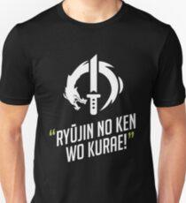Genji Overwatch Tribute Ryujin no ken wo kurae! T-Shirt