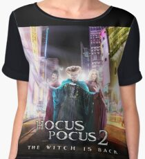 The Witch Is Back Women's Chiffon Top