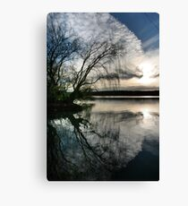 Mannum nights Canvas Print