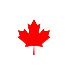 Maple Leaf Bedspread - Canadian Symbol Canuck Icon by deanworld