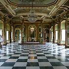 Hall of Ambassadors, Queluz National Palace by Trish Meyer