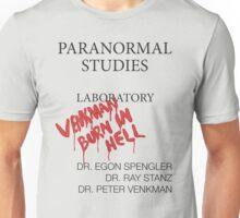 Paranormal Studies Laboratory - Ghostbusters Unisex T-Shirt