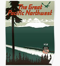 The Great Pacific Northwest Poster