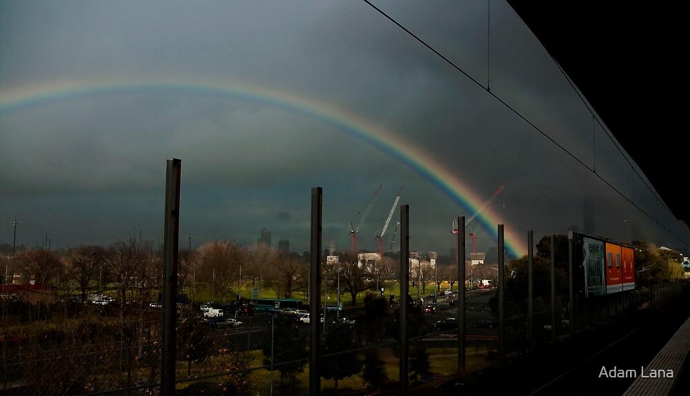 Winter Rainbows #3 by Adam Lana